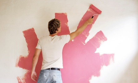 Contraste Nítido — concelho de Lisboa: serviço de pintura de interiores com tinta branca ou de cor desde 199€