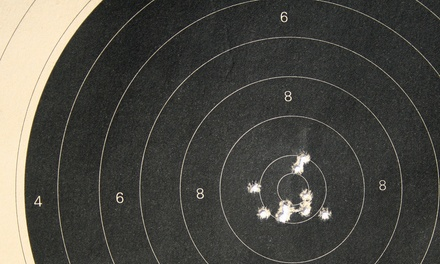 Firing-Range Package for Two with Revolver, Rifle, or Pistol at Maryland Small Arms Range (Up to 52% Off)