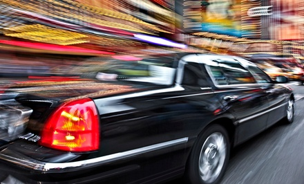 One-Way or Roundtrip Airport Service for Up to Three or Five from RJH Limousine Services (Up to 54% Off)