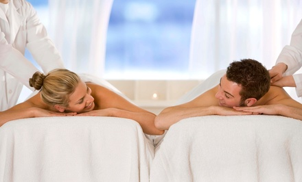 $111 for a Couple's Massage with Chocolate and a Rose at Serenity Massage & Spa ($195 Value)