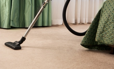 Three or Five Rooms of Steam Carpet Cleaning from SV Carpet Cleaning (Up to 51% Off)