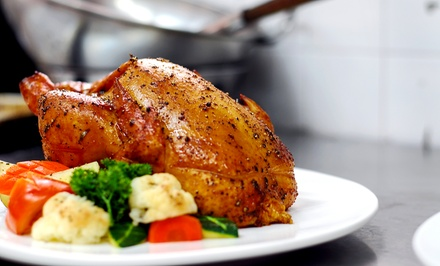 Chicken and Haitian Cuisine at Tigeorges' Chicken (Up to 40% Off). Three Options Available.