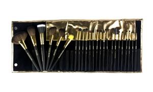 24-piece Copper Pro Cosmetic-brush Set