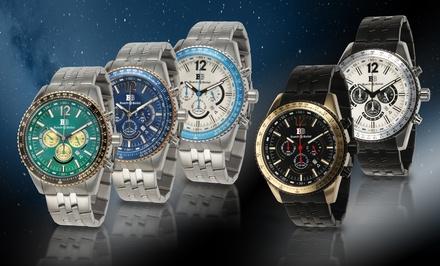 Buech & Boilat Men's Chronograph Watch