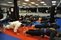 $7 for 1 kickboxing class at 9am at International Martial Arts Academy