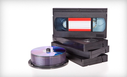 $10 for One Video Tape Transfer to DVD at Denevi Digital Imaging