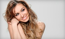 $80 for Partial Highlights, Haircut, Deep Condition &amp; Style at Anna Nicole Hair Studio