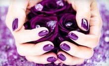 $24 for Acrylic Glittered Nails at LaVie Nails &amp; Spa