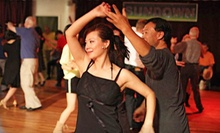 $12 for a Drop-In Dance Class at 8:30 p.m. at Stepping Out Studios