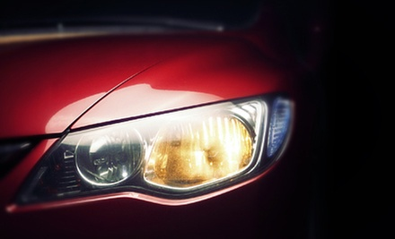 $39 for Headlight Restoration for Both Lights at Orlando Auto Body
