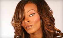 $75 for a Sew-In Hair Extension Treatment, Cut &amp; Style at Starmakers Hair Salon