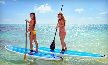 $12 for a One Hour Stand-Up Paddleboard Rental at Buena Vista Watersports