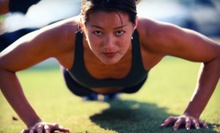 $7 for a 5:30 p.m. Bootcamp Class at R.A.W. Fitness LLC