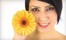 $75 for Pamper Package: 1 hr Microderm Facial, Mask, Brow Wax/Design at Skin Spa Austin Lounge