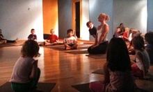 $7 for 9:30am Family Yoga Class at Yoga for Young Warriors