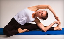 $10 for a Vinyasa Flow Class at 4 p.m.  at Hapa Yoga