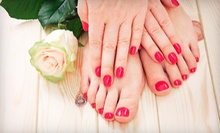 $40 for a Manicure and Luxury Pedicure  at Nail Club &amp;amp; Spa