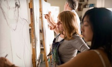 $11 for 1pm Drawing for Teens &amp; Adults Drop-in Art Class at Art On The Ridge