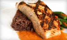$12 for Food &amp; Drinks at Fish House