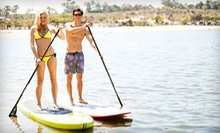 $20 for a Two-Hour Paddleboard Rental at Pirate Coast Paddle Co.