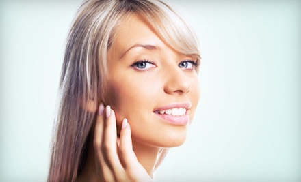 $105 for Partial Highlights, Awapuhi Keratriplex Treatment & Cut at Awesome Blossom Beauty Salon
