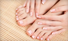 $27 for Spa Manicure and Pedicure at Handz @ Work