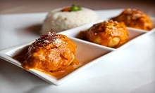 $15 for Food and Drink at Cafe of India