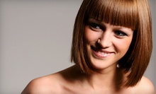$60 for a Partial Foil Highlight, Cut &amp; Style at Milcia's Salon