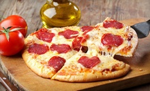 $9 for $20 Worth of Personal Pizzas at Flying Saucer Pizza