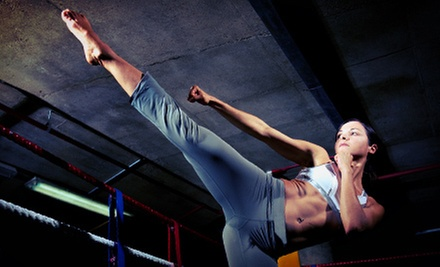 $5 for a Kickboxing Class at 10:15 a.m. at Stone Gym