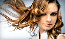 $62 for Full Color, Cut &amp; Style or Partial Highlights, Cut &amp; Style at Studio V Salon &amp; Day Spa