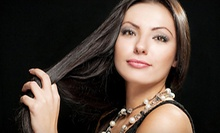 $75 for a Customized Conditioning Treatment, Cut and Blow-Dry Style at Michelle Cochran