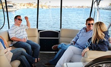 $225 for 3-Hour Luxury Boat Rental for up to 11 (up to a $375 value) at Newport Pontoons