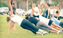 $10 for a 6 p.m. Boot Camp at Wired Fitness Boot Camps