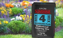 $37 for a Bag of Sunshine Mix Four Professional Growing Mix at Organic America