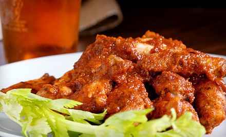 $17 for Two Orders of Wings and a Pitcher of Beer at SNAP Sports Bar