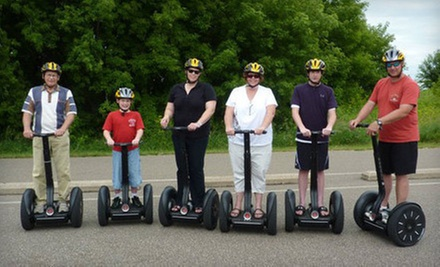 $30 for a 12:30 p.m. 2-hour Segway Nature Tour  at All American Segway