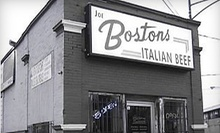 $5 for $10 at Joe Boston's Italian Beef