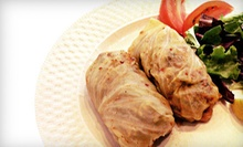 $17 for Lunch for Two, Including Two Entrees & One Large Soup at Kalinka Russian Tea House