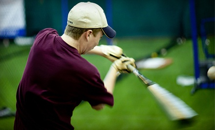 $15 for 60-Minutes of Batting Cage Practice at Raider's Edge