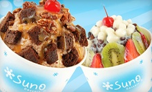 $5 for $10 at SunO Dessert