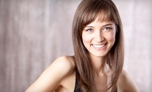 $40 for Haircut, Wash, Deep Conditioning, Massage, Style & Blowdry at Platinum Strands Salon & Spa
