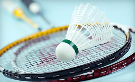$11 for a 1-Hour Court and Equipment Rental for Up to 4 People  at Arcadia Badminton Club
