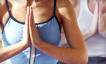 $8 for  75-Minute All-Levels Yoga Class at 6 a.m. at Always-At-Aum
