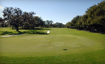 $9 for One Round of Golf with Pull Cart  at Winter Park Country Club