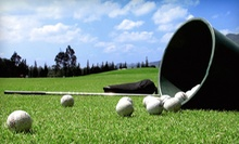 $10 for Two Large Buckets of Golf Balls for the Driving Range  at John Wells Golf Center