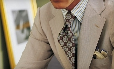 $70 for Custom Suits  at J. Barbaro Clothiers