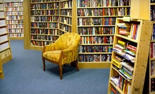 $12 for $25 Worth of Used Books and Cafe Items at Bookmaze