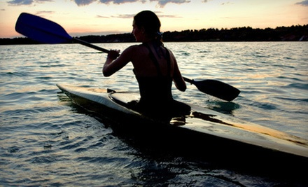 $7 for 1-Hour Kayak Rental at Surf and Ski Water Sports
