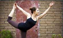 $10 for an Outdoor Pilates Cardio Yoga Class at 6 p.m. at CINCH Fitness